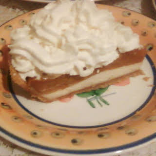 Pumpkin Cheese Cake.
