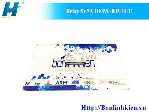 Relay 5V5A HF49F-005-1H11