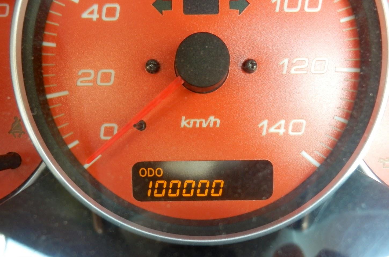 20130701 10万km達成!