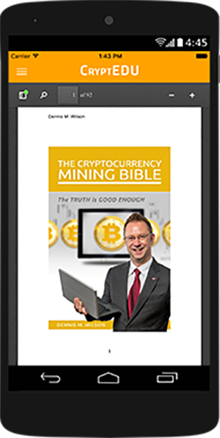 Cryptocurrency Mining Bible- screenshot