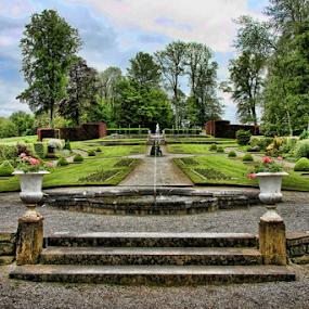 Annevoie Garden - Belgium by Dominic Jacob - City,  Street & Park  City Parks ( jardin, green, belgique, annevoie, belgium, garden,  )