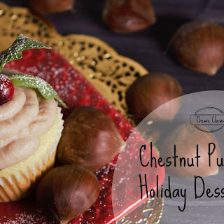 Easy Chestnut Puree for all your Holiday Desserts.