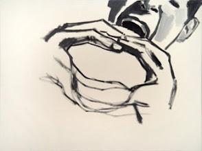 "Photo: Whielki Krasnal ""Untitled"". 2008. Oil on canvas. 54 x 65 cm"