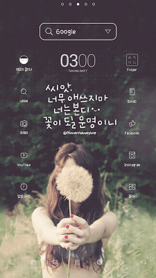 seed Dodol launcher theme - screenshot