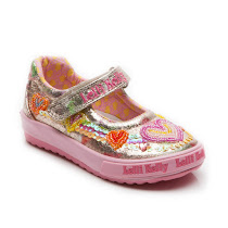 Lelli Kelly Mila Dolly Shoe CANVAS