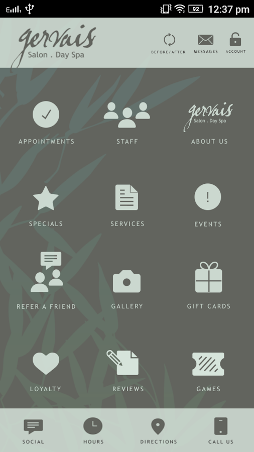 Gervais Salon & Day Spa- screenshot