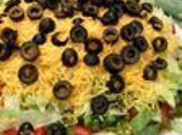 7-layer Taco Dip Recipe