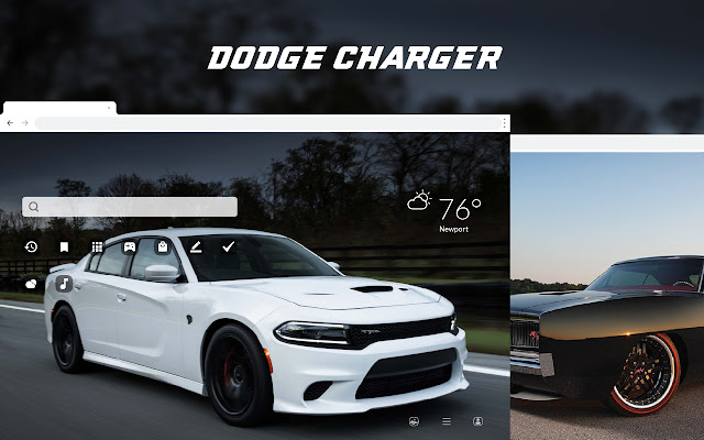Dodge Charger HD Wallpapers New Tab Theme