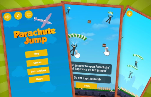 Parachute Jump Tap Fever Twist