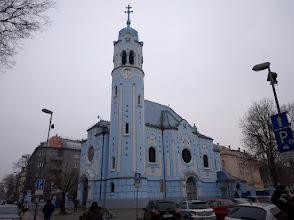 Photo: The Blues Church (St. Elisabeth's Church).