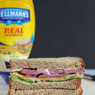 Classic Roast Beef & Cheese Sandwich
