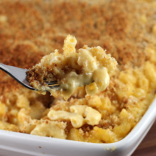 Baked Mac and Cheese.