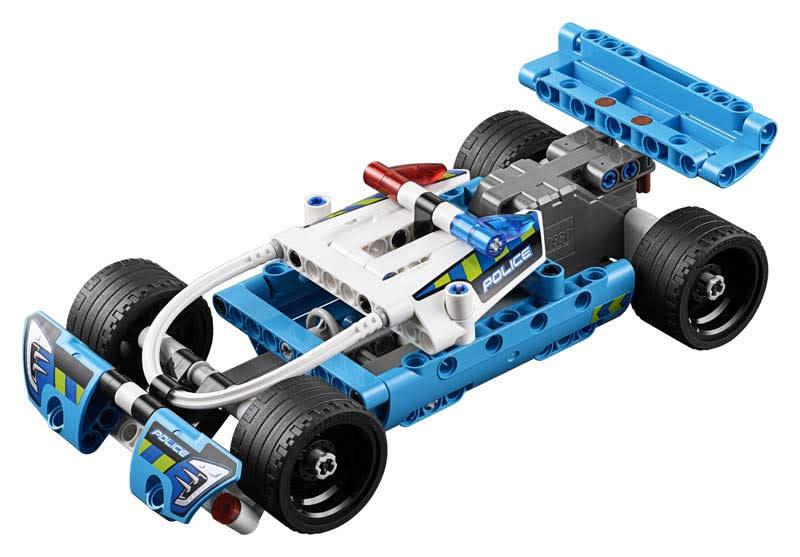Contenido de Lego® 42091 Cazador Policial