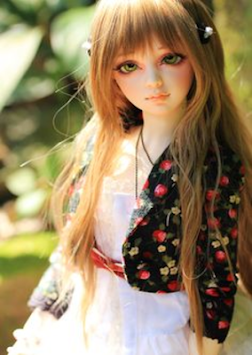 ... 3d doll wallpapers poster