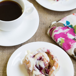 Raspberry Sticky Buns