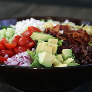 Kitchen Sink Chopped Salad with Creamy Balsamic Dressing Recipe