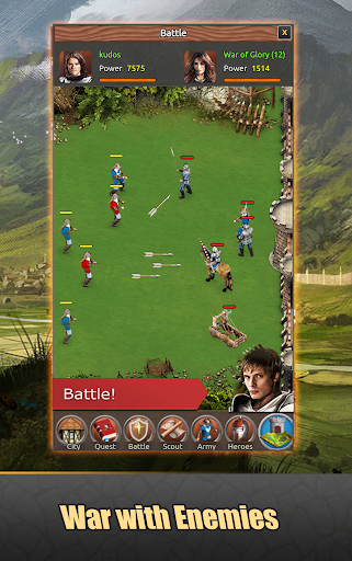 Lords of Kingdoms - medieval imperia mobile online 1.5.2 screenshots 2