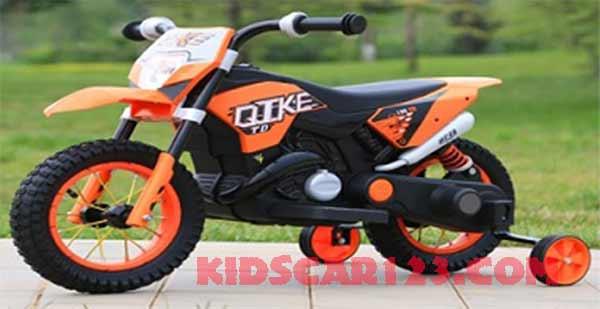 Xe máy điện trẻ em - Rock 305 màu cam