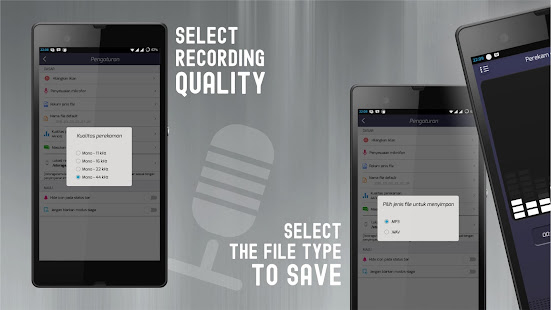 Audio Recording app