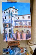 Photo: Painting by Elfrida Schragen