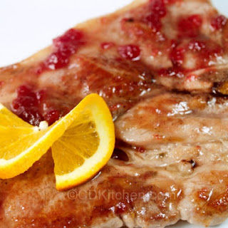 Cranberry-Orange Pork Steaks