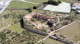Vista aérea de un yacimiento de Ciavieja que esconde muchas pistas sobre el pasado histórico del municipio.