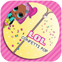 Lol game Surprise Confetti pop icon