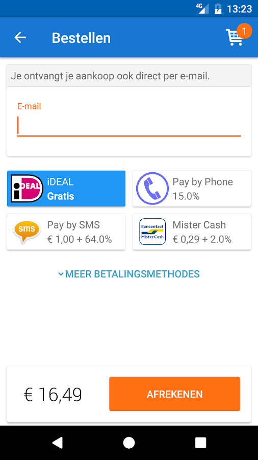 iGiftcards- screenshot