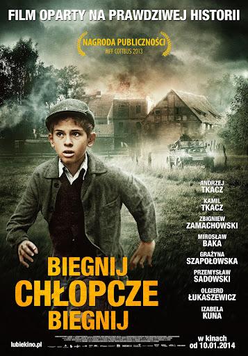 Polski plakat filmu 'Biegnij, Chłopcze, Biegnij'