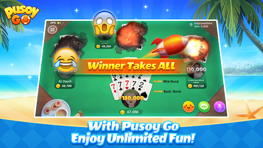 Pusoy Go: Free Online Chinese Poker(13 Cards game) App Latest Version  Download For Android 5