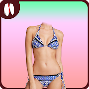 Bikini girl photo suit