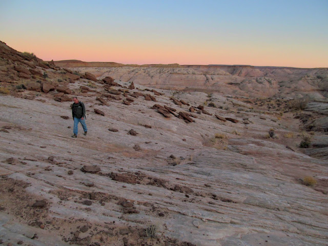 Last of the Navajo Sandstone