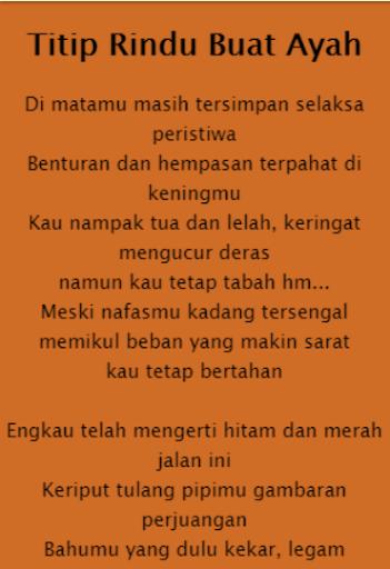 Lagu Ebiet Titipan Rindu Buat Ayah