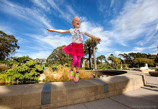 Photo: Flying Adore My little lady was flying like this at G+ Scott Kelby World Photowalk. She couldn't resist, it was such fun! :-)