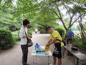 Photo: 皇居60Kラン 受付 6月30日午前8時