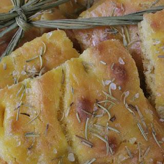 Butternut Squah Focaccia Bread.