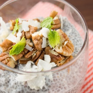 Coconut Pecan Chia Pudding Recipe