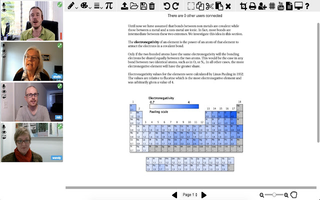 Groupworld screen sharing extension