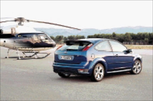 STUNNER: Ford Focus ST is not meant to exude subtlety.  Cicra 2008.  Pic. Unknown
