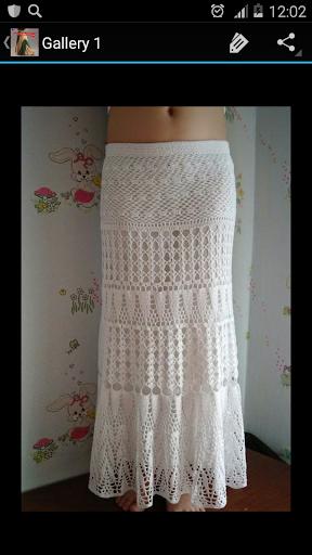 Crochet Pattern Maxi Skirt