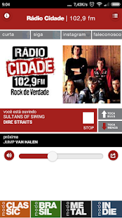 Rádio Cidade- screenshot thumbnail