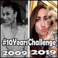 10 Years Challenge Pic Collage – Now & Then Photo