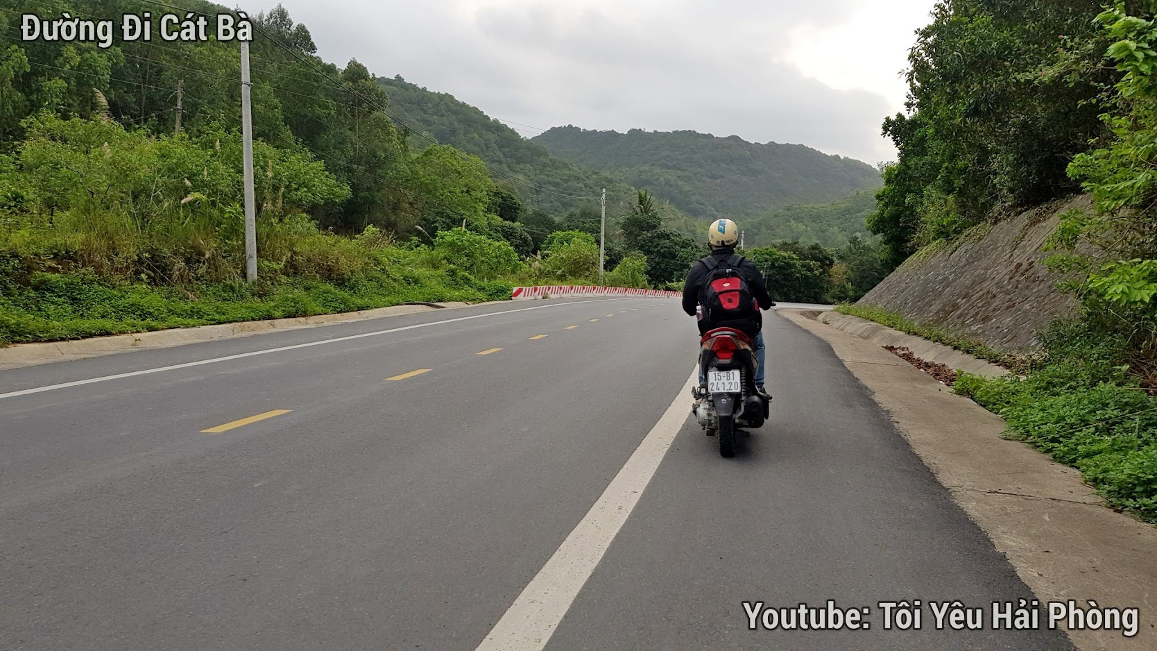 Đường đi xe máy từ Hải Phòng tới đảo Cát Bà 2019