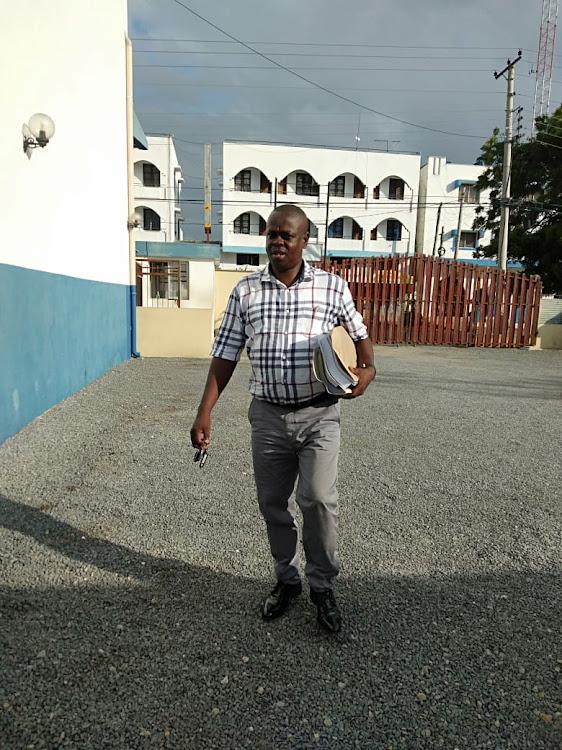 CHRJ executive director Julius Ogogoh.