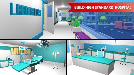 Hospital Craft: Building Doctor Simulator Games 3D 1.2 screenshots 11