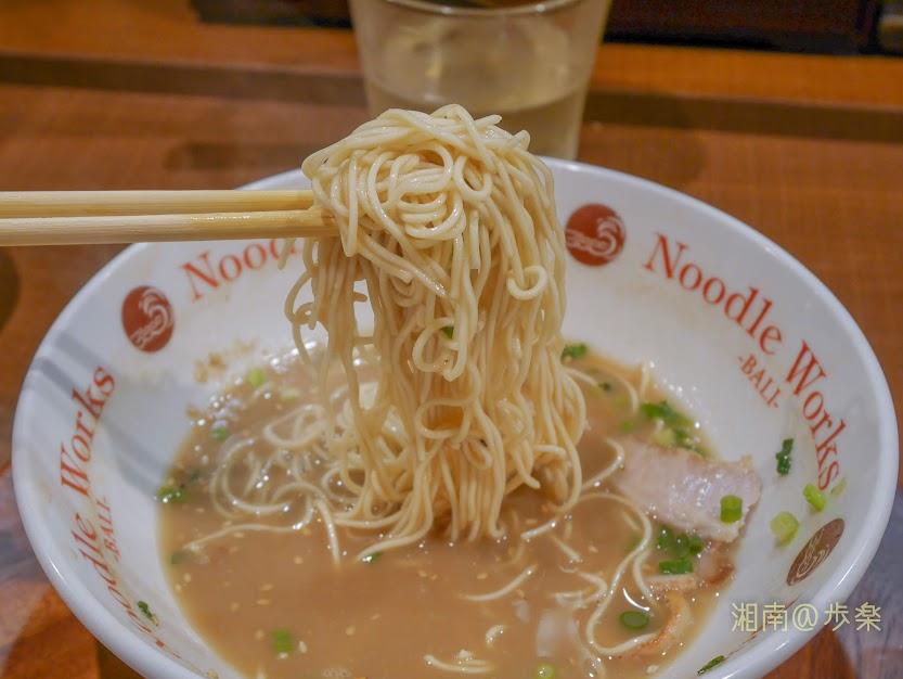 スープの追加はお断りしてつけ麺風にして食す