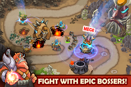 King Of Defense: Battle Frontier (Merge TD) Mod Apk Download For Android 6