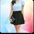Women Mini Skirt Suit