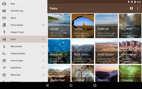 National Parks by Chimani- screenshot thumbnail