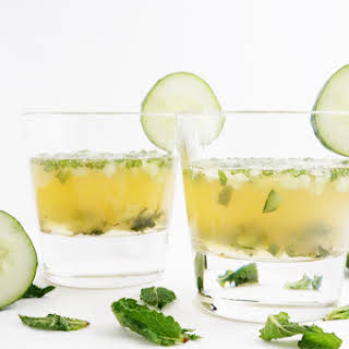Cucumber Whiskey Smash.